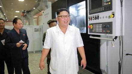 Lãnh đạo Triều Tiên Kim Jong Un