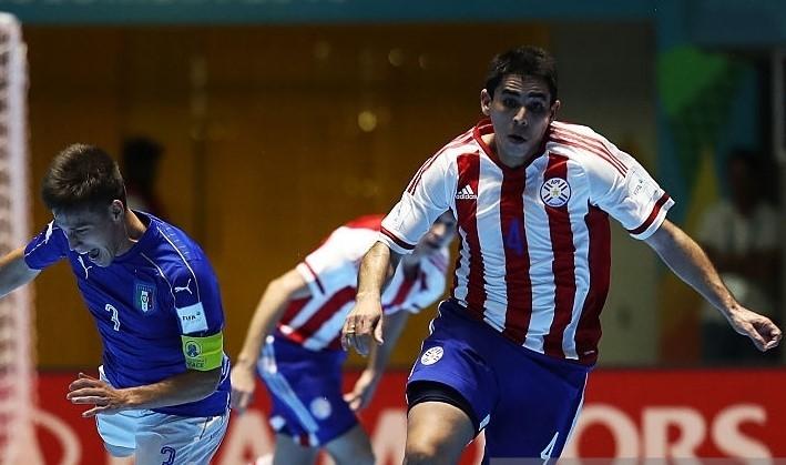 Tuyển Paraguay thua Italy 2-4 nhưng đã để lại nhiều ấn tượng.