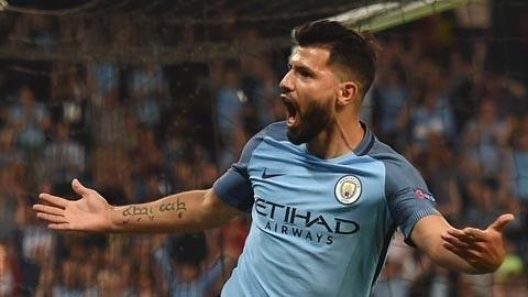 Aguero tỏa sáng với 1 cú hat-trick