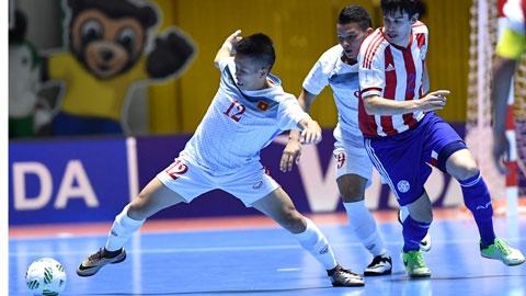 ĐT futsal Việt Nam cần 1 điểm ở lượt đấu cuối để đi tiếp