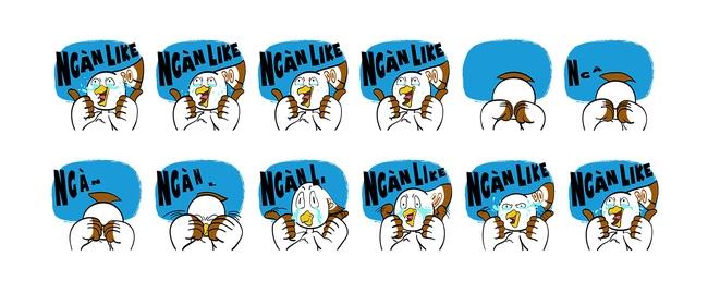 Gặp nhóm bạn trẻ được Facebook đặt hàng để tạo ra bộ sticker đầu tiên của Việt Nam - Ảnh 3.