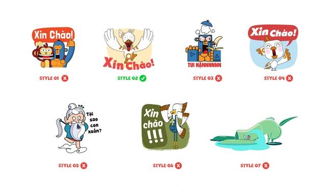 Gặp nhóm bạn trẻ được Facebook đặt hàng để tạo ra bộ sticker đầu tiên của Việt Nam - Ảnh 5.