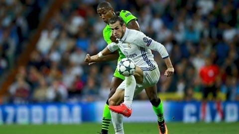Bale bất lực trong việc tìm kiếm bàn thắng cho Real