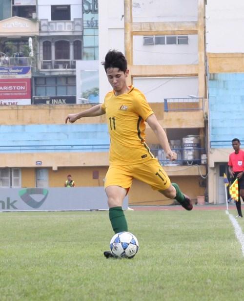 HLV U.19 Úc chê mặt sân Hàng Đẫy - ảnh 1