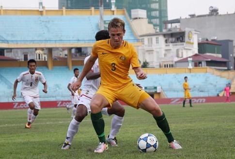 HLV U.19 Úc chê mặt sân Hàng Đẫy - ảnh 4