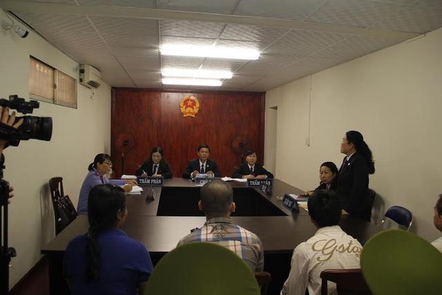 HĐXX đã tuyên hai bị cáo Tân và Tuấn được miễn trách nhiệm hình sự