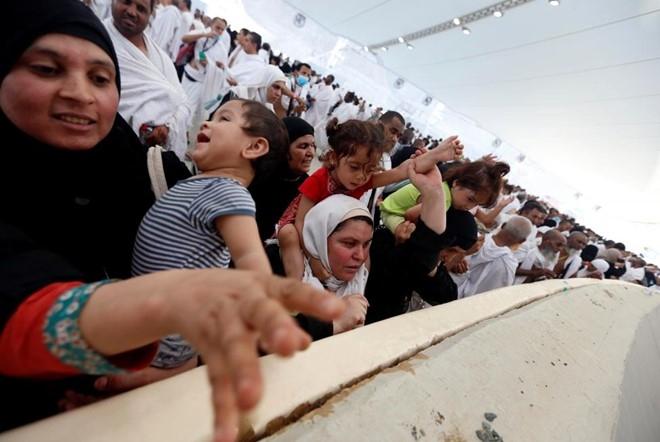 Tin do Hoi giao chen chuc trong le hanh huong Hajj 2016 hinh anh 10
