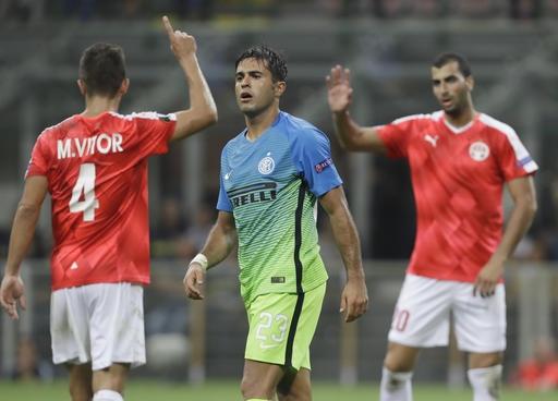 Inter thất bại khó tin trước tí hon Hapoel Beer Sheva trên sân nhà