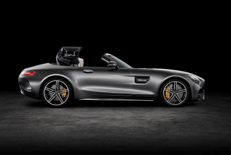 """Mercedes """"show hang"""" sieu xe mui tran AMG GT Roadster-Hinh-2"""