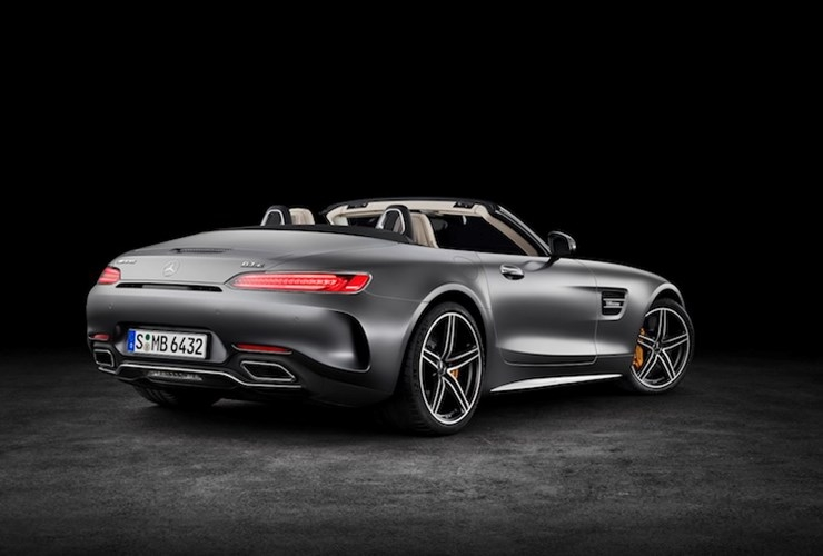 """Mercedes """"show hang"""" sieu xe mui tran AMG GT Roadster-Hinh-3"""