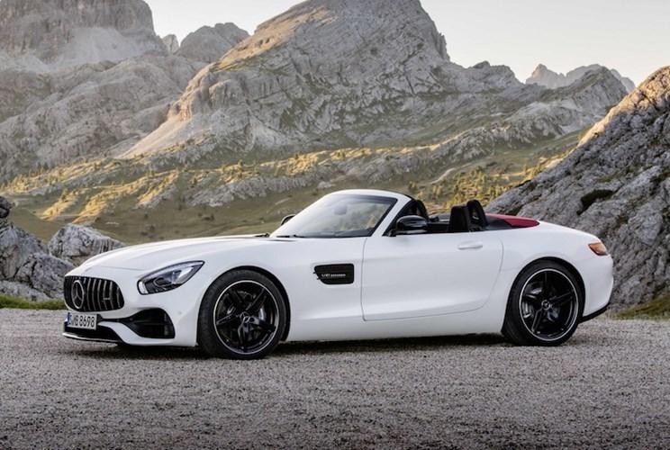 """Mercedes """"show hang"""" sieu xe mui tran AMG GT Roadster-Hinh-5"""