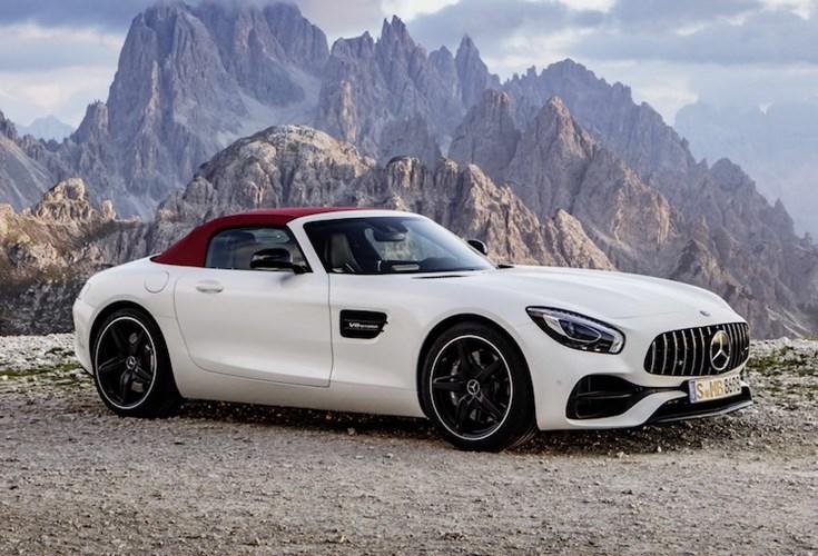 """Mercedes """"show hang"""" sieu xe mui tran AMG GT Roadster-Hinh-6"""