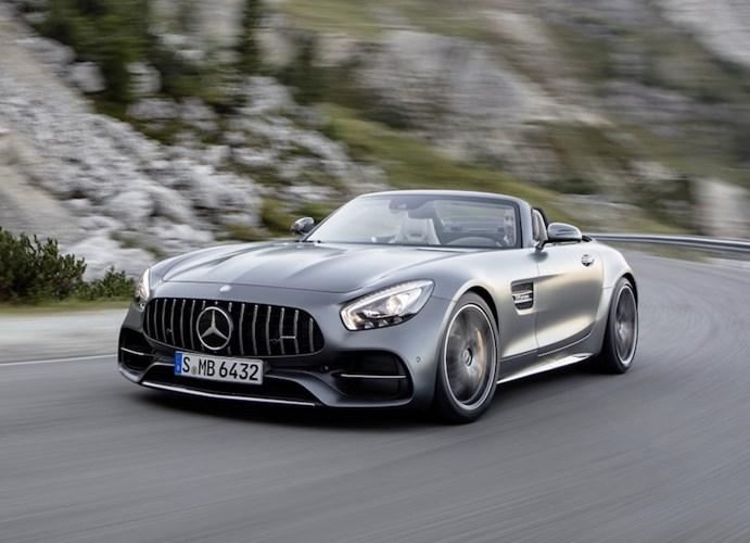"""Mercedes """"show hang"""" sieu xe mui tran AMG GT Roadster-Hinh-7"""
