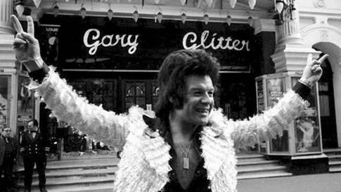 Gary Glitter năm 1973 - Ảnh AFP