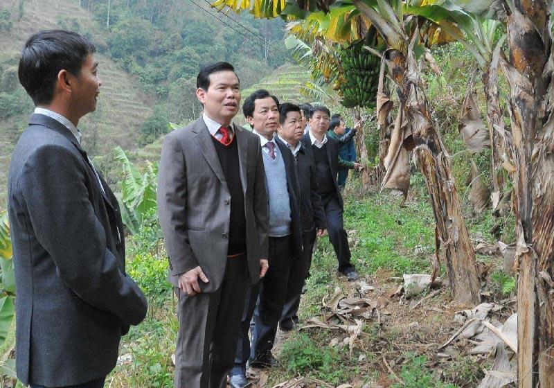 Triệu Tài Vinh, Bí thư Tỉnh ủy Hà Giang, loạt lãnh đạo mang họ Bí thư tỉnh