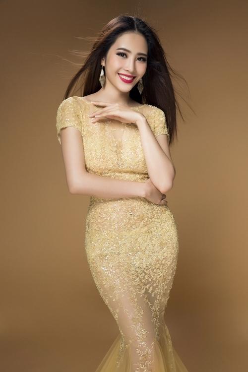 Hoa khôi Nam Em được cấp phép thi Miss Earth 2016