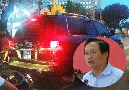 Trịnh Xuân Thanh cùng chiếc Lexus ngã ngựa trên con đường công danh.