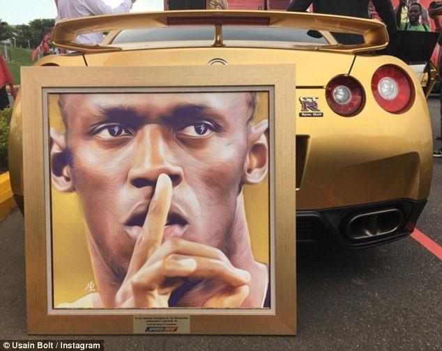 Usain Bolt khoe sieu xe ma vang trong ngay len lam giam doc hinh anh 5