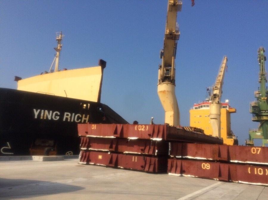 Formosa, bùn bô xít, hà tĩnh, cảng vũng áng, bộ công thương, cấp phép nhập khẩu
