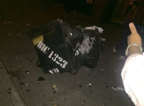 Hiện trường tan hoang vụ nổ bom rung chuyển ở New York - ảnh 6
