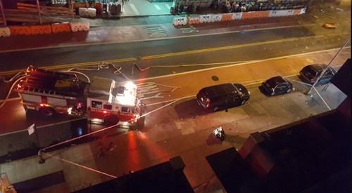 Hiện trường tan hoang vụ nổ bom rung chuyển ở New York - ảnh 9