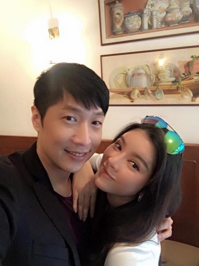 Ly Nha Ky sang Hong Kong an trua cung sao TVB hinh anh 1
