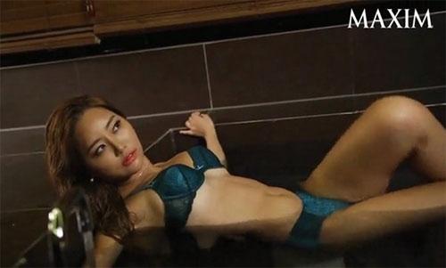 Mẫu tạp chí đàn ông xứ Hàn gây sốt nhờ vòng mông 93 cm - 10