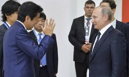 Quan hệ Nga - Nhật đang nồng ấm hơn (Ảnh: AP).