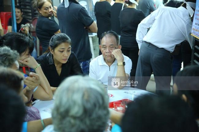 Sao Việt đau buồn đến viếng tang lễ nghệ sĩ Minh Thuận - Ảnh 13.