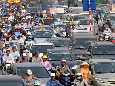 Đề xuất hạn chế ôtô theo giờ, cấm xe máy ngoại tỉnh ở Hà Nội
