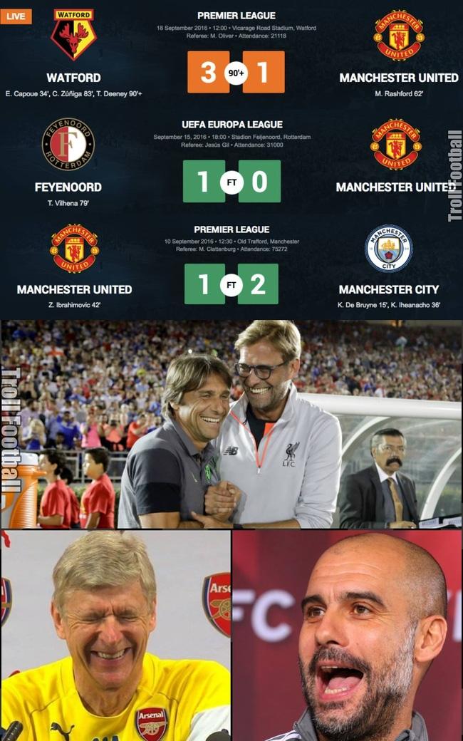 Ảnh chế: Jose Mourinho hào phóng tặng điểm khắp mọi nơi - Ảnh 2.