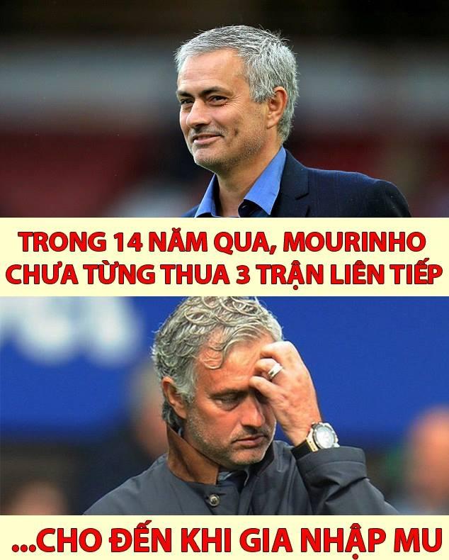 Ảnh chế: Jose Mourinho hào phóng tặng điểm khắp mọi nơi - Ảnh 3.