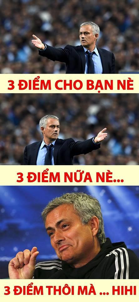 Ảnh chế: Jose Mourinho hào phóng tặng điểm khắp mọi nơi - Ảnh 4.