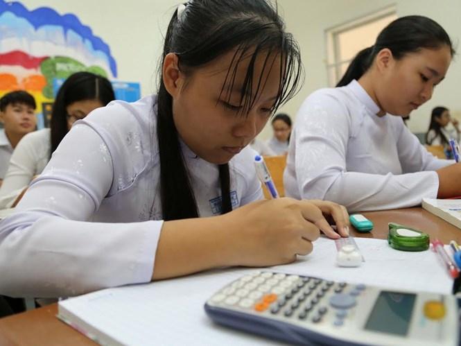 Nhiều trường bắt đầu điều chỉnh cách dạy, học để thích ứng với cách thi mới /// Ảnh: Đào Ngọc Thạch