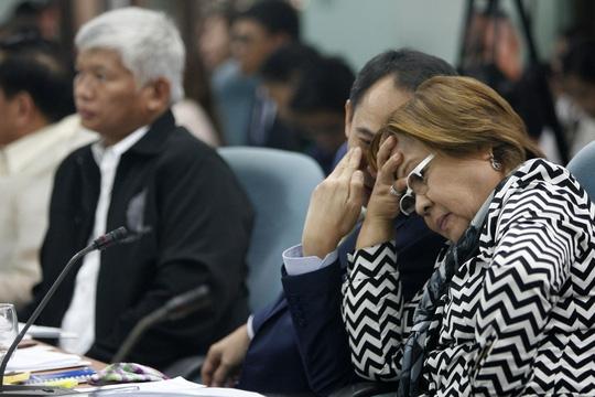Nữ thượng nghị sĩ Leila De Lima. Ảnh: RAPPLER