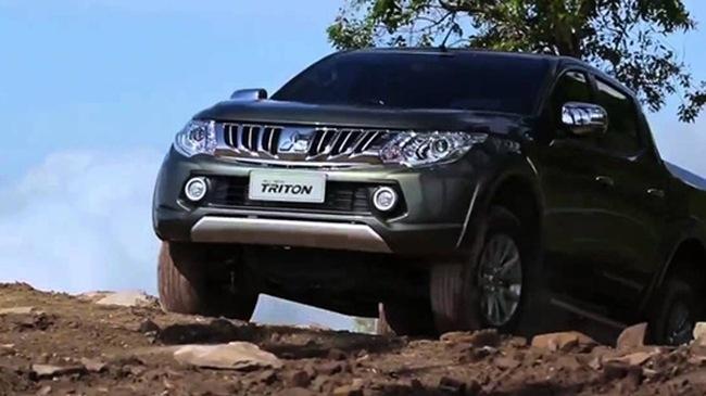 Triệu hồi hơn 3.500 xe bán tải Mitsubishi Triton
