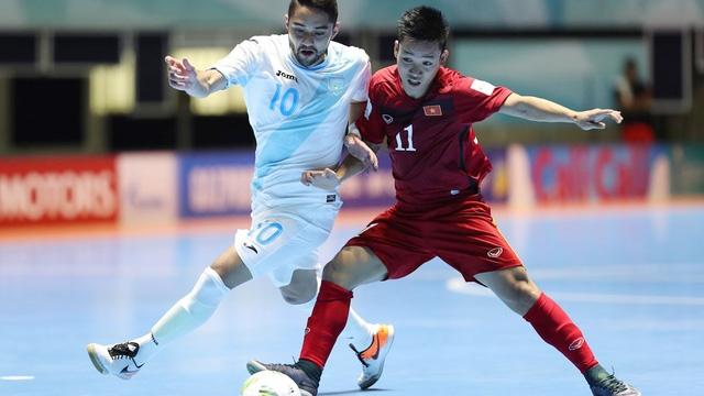 Đội tuyển futsa Việt Nam sẽ đụng độ Nga tại vòng knock-out
