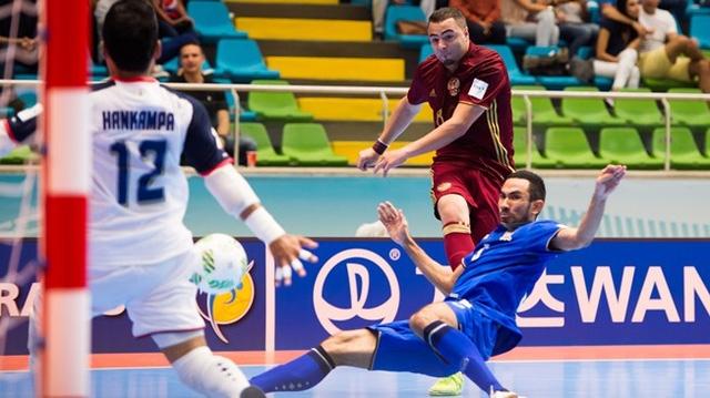 Nga hiện đang là đương kim Á quân châu Âu, và đứng đầu bảng B của VCK World Cup futsal 2016 (bảng đấu có Thái Lan)
