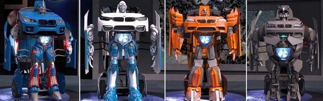 Xe BMW bien hinh Transformer nhu trong phim hinh anh 2