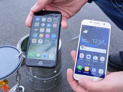 iPhone 7 chống nước tốt hơn Galaxy S7