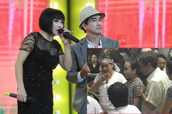 Con gái Phương Thanh đến viếng Minh Thuận  0