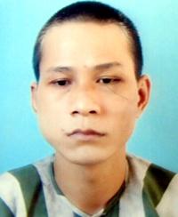 Thòng Công Trúng (25 tuổi) tại cơ quan điều tra. Ảnh: Báo Đồng Nai