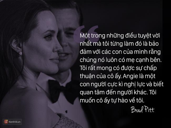 Trước khi ly hôn, Angelina Jolie từng nói về Brad Pitt: Chúng tôi như thể một cặp sinh ra là dành cho nhau - Ảnh 1.