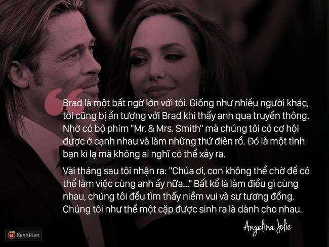 Trước khi ly hôn, Angelina Jolie từng nói về Brad Pitt: Chúng tôi như thể một cặp sinh ra là dành cho nhau - Ảnh 2.