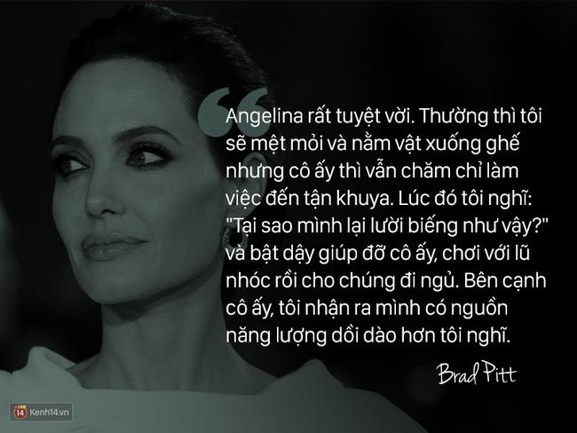 Trước khi ly hôn, Angelina Jolie từng nói về Brad Pitt: Chúng tôi như thể một cặp sinh ra là dành cho nhau - Ảnh 4.