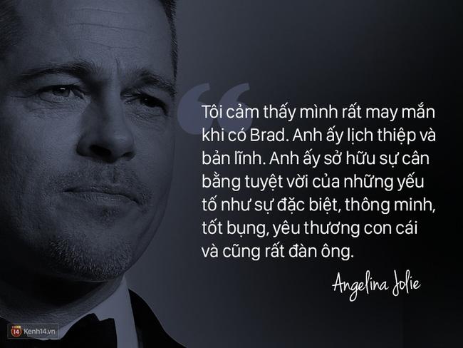 Trước khi ly hôn, Angelina Jolie từng nói về Brad Pitt: Chúng tôi như thể một cặp sinh ra là dành cho nhau - Ảnh 11.