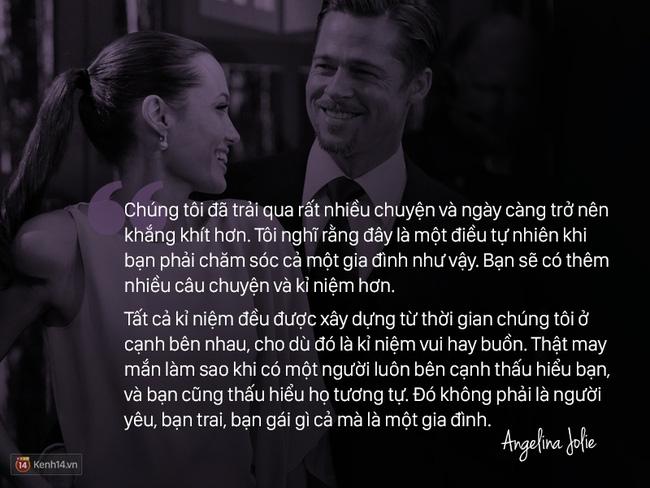 Trước khi ly hôn, Angelina Jolie từng nói về Brad Pitt: Chúng tôi như thể một cặp sinh ra là dành cho nhau - Ảnh 12.