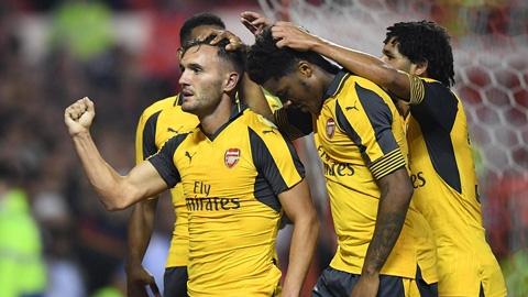 Arsenal, Liverpool đại thắng ở vòng 3 Cúp Liên đoàn Anh