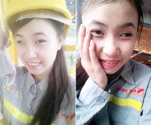 """Cô gái mắt lé đi phụ hồ kiếm tiền """"tu sửa"""" nhan sắc - 2"""