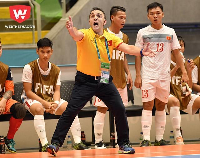 HLV Bruno Garcia bật mí bí kiếp giúp Futsal Việt Nam phát triển.
